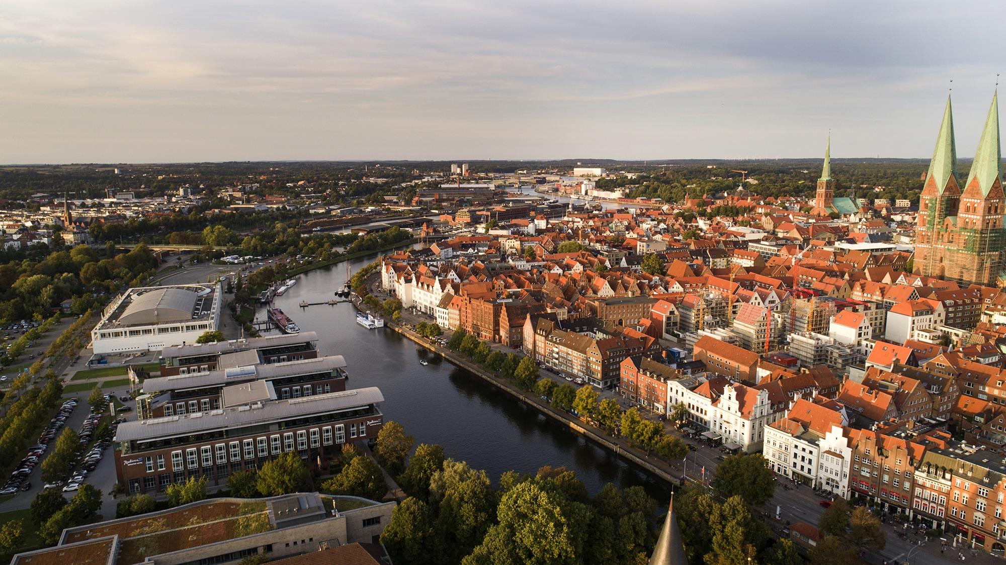 Lübeck-Fotografie-Drohne